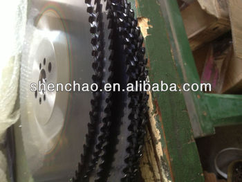 hss saw blades with TIALN COATING,CNC TEETH MAKING