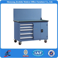 Movable Workbenches steel drawers tool trolley box chest hand tool metal mobile cabinet