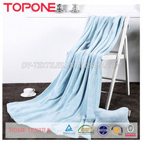 2015 Travel Blanket With Pouch Customized Airline Fleece Pillow Blanket
