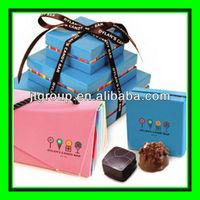 Ribbon tie handmade gift paper packaging valentine box of chocolates