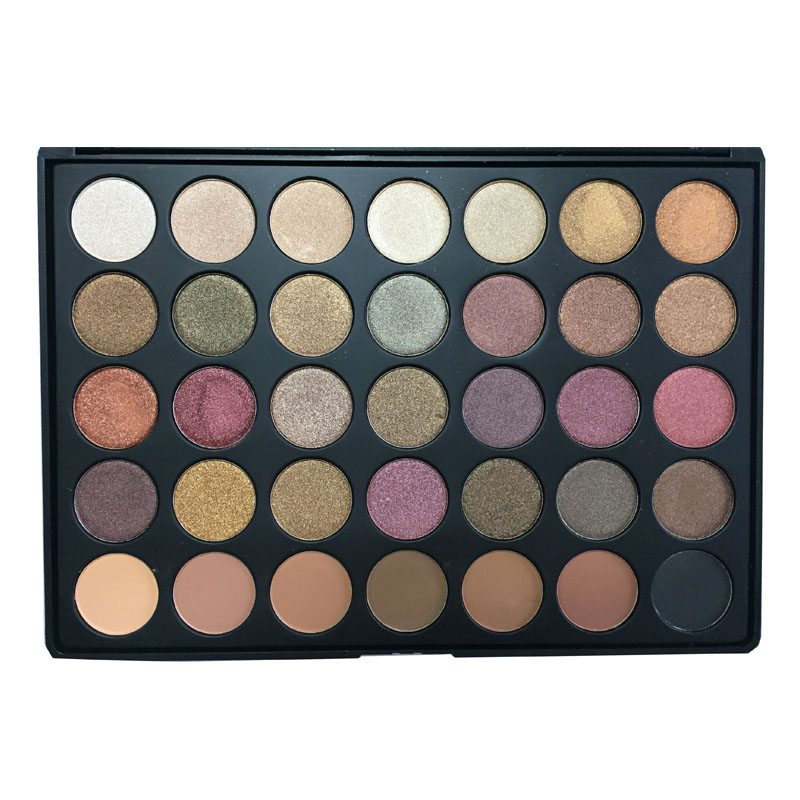 Makeup beauty no name <strong>cosmetics</strong> 35F color shimmer powder eyeshadow palette