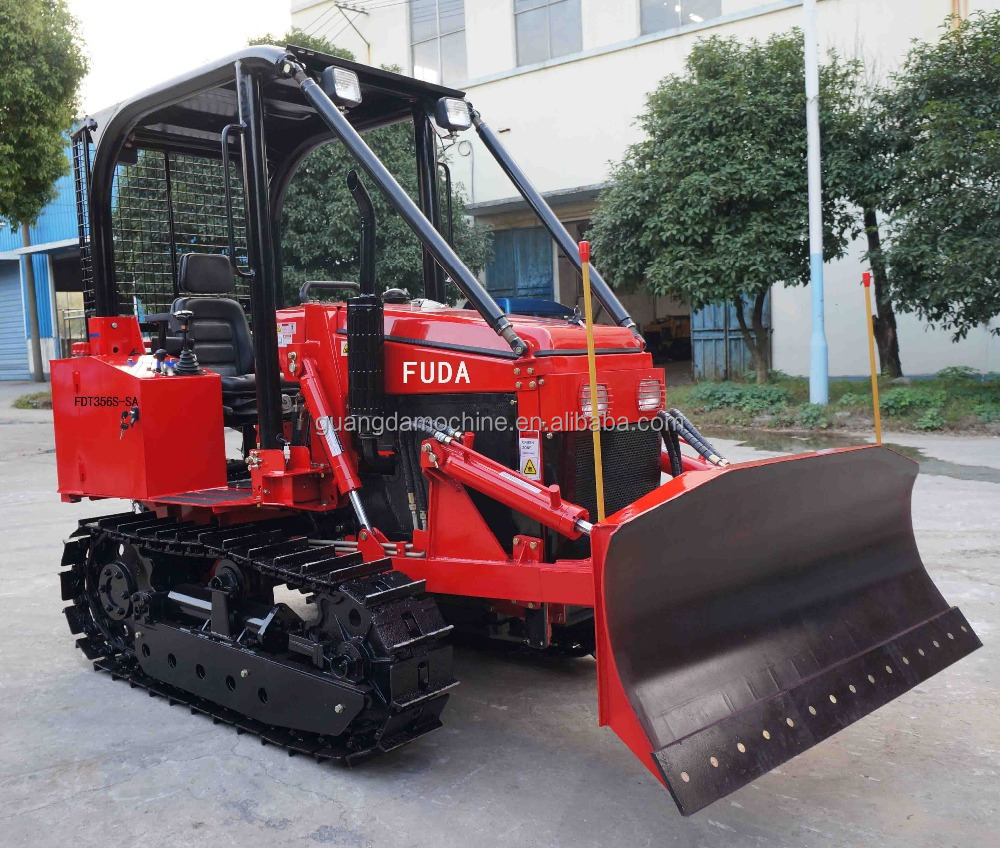 Agricultural Machine 35hp Small Crawler Tractor