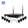 CCTV VESAFE 8 Channel wifi 720P ip camera NVR CCTV wireless camera system 8CH wifi nvr kits cctv kit