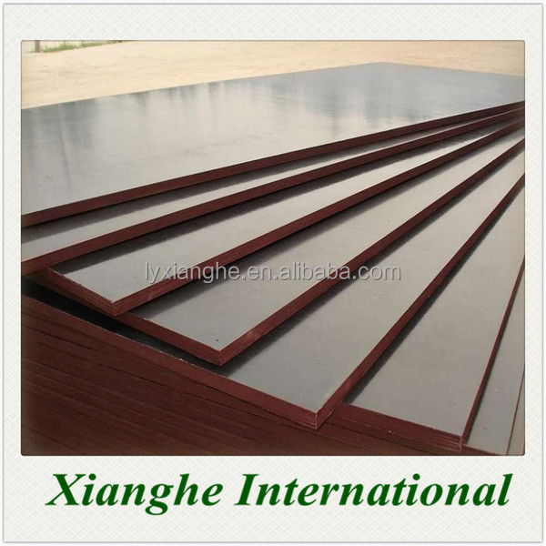 8mm No Pollution Waterproof Glue Brown/Black/Red Color Film Faced Plywood For Construction