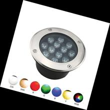 RGB 3W/9W/18W/24W/36W uplight led underground light with IP67
