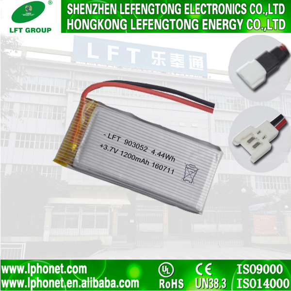 Original 903052 syma x5 battery 1200mah 3.7v lithium li ion polymer battery