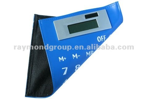 8 digits electronic pocket calculator with cover
