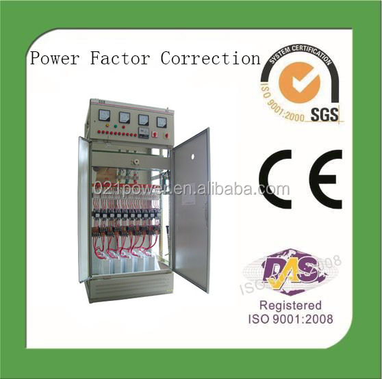 Harmonic filtering 3phase 380V power factor correction equipment.