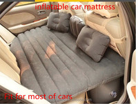 With Pillows Pump Thick PVC Travel Back Seat Cushion Air Mattress Inflatable Car Bed car accessory