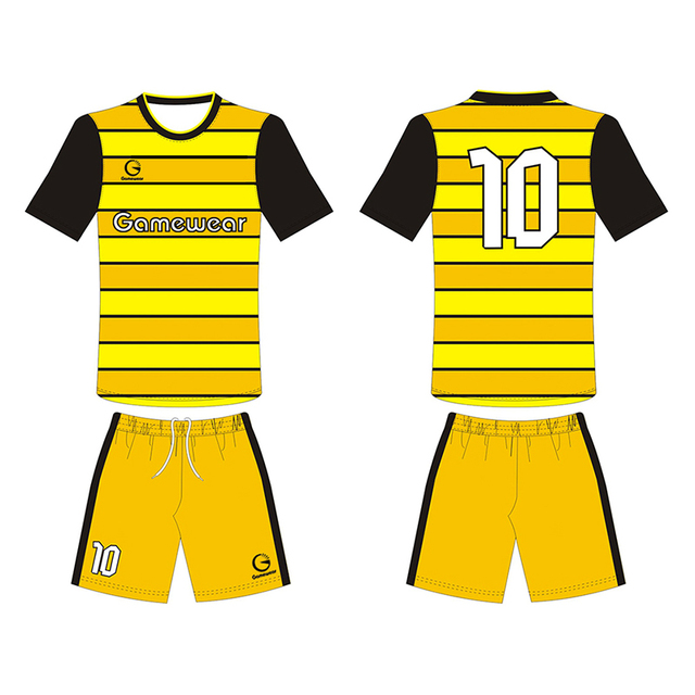 Sublimated Thai Quality Korea Custom Soccer Jersey