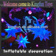 Night Club Decorative Products LED Inflatable star