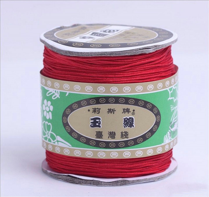 Chinese Knot Macrame String Wire Cord Thread for DIY Necklace Bracelet Braided String