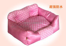 pet beds dog bed with super soft plush fur fabric