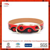 China heavy duty pet products printing Custom dog collars