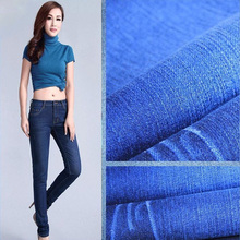 Hot Sale 8OZ~13OZ Cotton Slub Denim Fabric For Jeans