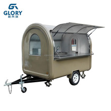 Factory Supply Stainless Steel Mobile Food Cart Design/ bbq Food Cart For Sale/ Street Food Kiosk Cart For Sale