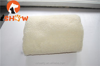 pet double layer sherpa fleece thick blanket mat bed with zipper anti-slip&wet winter warm