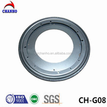 12 Inch Wholesale Galvanizaed Lazy Susan Swivel Plate Dining Table Rotational Parts CH-G08-1