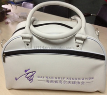 new design leather golf travel bag
