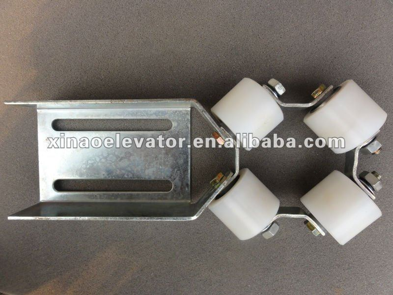 2014 HOT!!! Elevator Compensation Chain Guide Roller Device