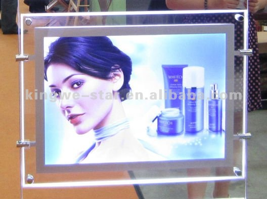 Exhibition Advertising aoto LED crystal light box