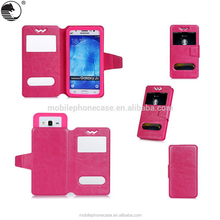 Universal Cell Phone Leather Case for 4.8 to 5.3 inch phone