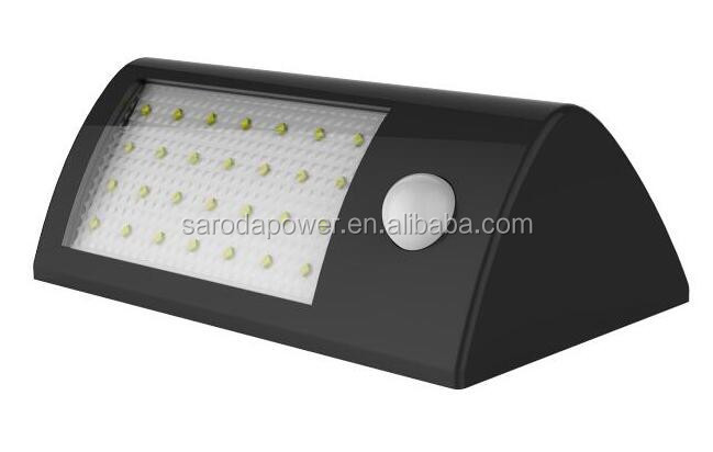Solar Powered Motion Sensor Light, wireless Solar Energy Led Security Lights, Waterproof & Auto On/Off for Yard Outdoor etc