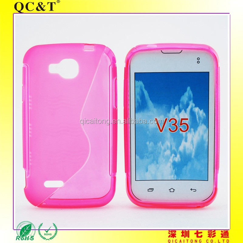 New top selling S LINE mobielphone tpu case for NEXTEL V35