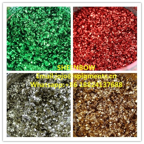 Sheenbow Foil flakes Chrome flakes pigments for Nail