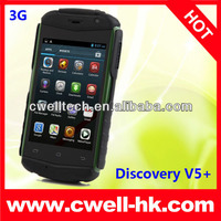 "Discovery V5+ 3.5"" MTK6572W dual core shockproof rugged android 4.2 3G smart phone"
