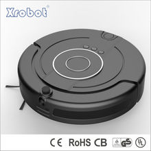 2015 new intelligent robot vacuum cleaner with HD movable camera