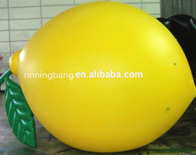 inflatable lemon fruit balloon model for sale