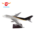 35cm/47cm Resin ABS Boeing B747 airplane model UPS express promotion gift model plane