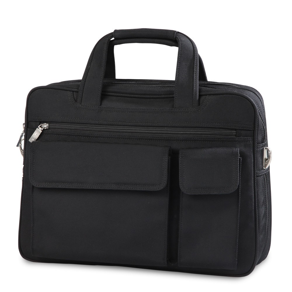 15.6 inch high quality nylon material business of laptop bag handbag shoulder bag