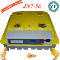 Heart-smart family use cute good quality & price semi automic infant incubator(56 eggs)