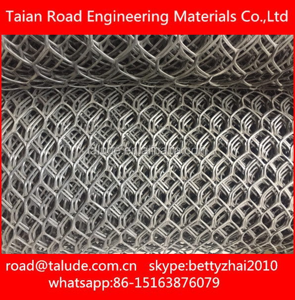 CE Geonet drainage sheet net used in road construction