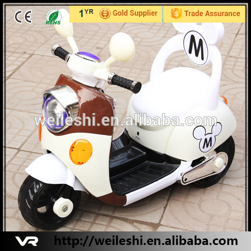 Brand new kids ride on plastic motorcycle ce approval motorbike 12v battery operated toy bike with great price