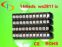 addressable smd 5050 light strip 144 led rgb smd 5050 ws2811 ic built in
