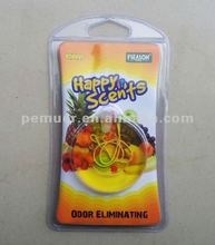 Smile face shape new gel air freshener with high quality for promotion