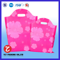 Acceptable customized printed machine made fancy plastic bag