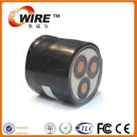 Medium Voltage XLPE Insulated AC Power 3 Core Electric Cable For Energy Lines