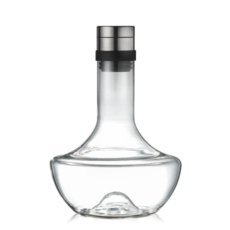 glass <strong>wine</strong> decanter hand made mouth blown crystal <strong>wine</strong> decanter lead free glass with new shape