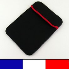 Soft Protect Cloth Bag Pouch Cover Case for 8 inch Tablet PC MID Notebook Black Color
