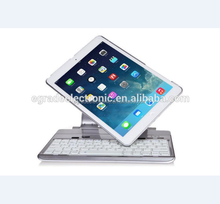 360 Rotating Stand Folio Style Case Cover Bluetooth Keyboard For iPad AIR IPAD 5