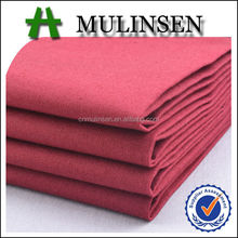 Mulinsen Textile Best Quality Woven 40s*40s Poplin 100% Cotton Fabric Dye