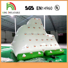 0.9mm PVC Tarpaulin Water Park Games Inflatable Floating Iceberg With
