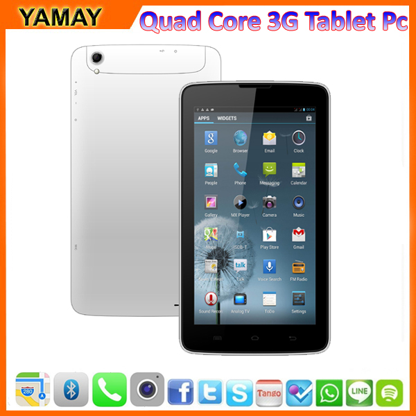 "high quality 7"" IPS GPS 3G Bluetooth wifi Multi-touch screen touch tablet pc software free download"