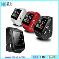 Without GPS and Wifi, with Dial case Tiwe OLED wrist watch cell phone U8