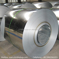 Zinc spangles oiled hot dipped galvanized steel coil