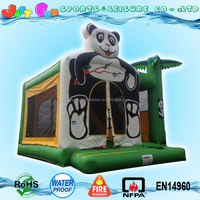 4 in 1 panda combo used commercial bounce houses for sale